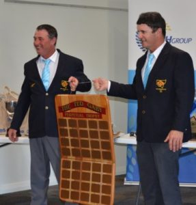 Ted Gaby Winners Mick Hudson and Bill Davidson from NSW.